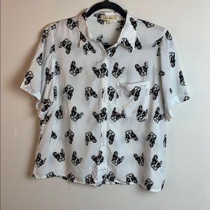 Love Notes Frenchie Dog Shirt